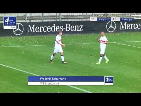 B-Junioren - 4:0 - Frederik Schumann - VfB Stuttgart 2 gegen SC Freiburg 2