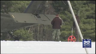 U.S. Army to determine how snowmobile crashed into Blackhawk helicopter in Worthington