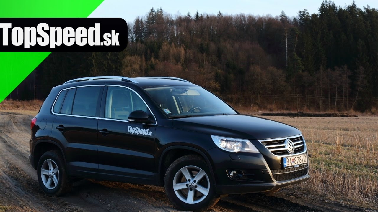 Jazdenka: Volkswagen Tiguan (2007 - 2016) TopSpeed.sk - YouTube