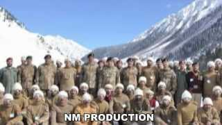 Our tribute to our Shaheed jawans in Siachen glacier