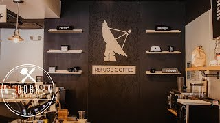 Coffee Shop Wall Backdrop Renovation