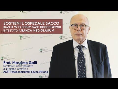 Sostieni l'Ospedale Sacco | Prof. Massimo Galli