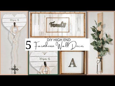 diy-high-end-farmhouse-decor-|-farmhouse-wall-collage-|-diy-decor-you-can-sell-|-dollar-tree-diy