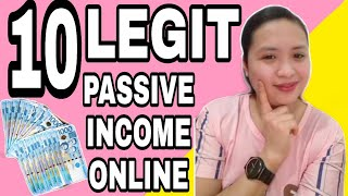 10 LEGIT WAYS TO MAKE MONEY AND PASSIVE INCOME ONLINE ( HOW TO MAKE MONEY ONLINE)2020