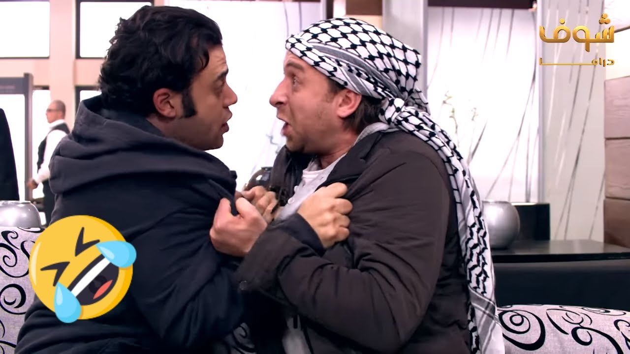 اجمد مقاطع فرقة ناجي عطالله - علية الطلاق حاتجوزها يا ابراهيم ?? الزعيم عادل امام