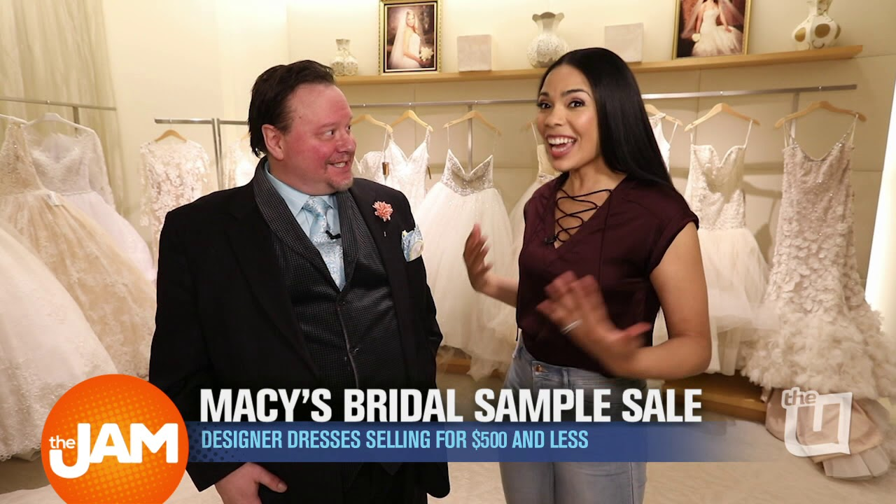 Bridal Gown Sample Sale at Macy\'s - YouTube