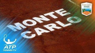 Nadal, Djokovic, Carreno Busta in Top Five Shots | Monte-Carlo Rolex Masters 2017 Day 5