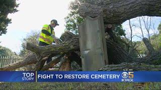 Mare Island Navy Cemetery Falls Into Disrepair Amid Shutdown