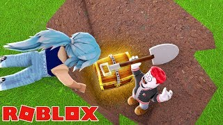 WE GRABEN 500 BLOCKS AND FIND THE BEST TREASURE IN ROBLOX!