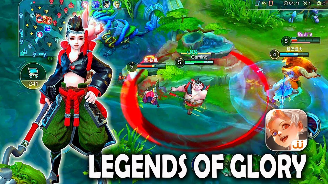 Android Ios Legends Of Glory New Moba Gameplay Youtube