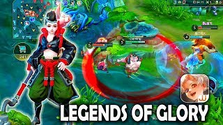 Android/ios  Legends Of Glory - New Moba Gameplay