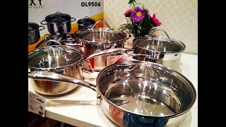Покупка и обзор набора посуды фирмы  Galaxy