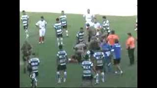 Ação policial em jogo do campeonato Varzeano de Guaramirim