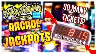 ARCADE JACKPOT CHALLENGE! - INCREDIBLE JACKPOT WINS | Arcade Games