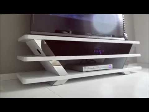 TV Lowboard Mit Sound Dock   YouTube