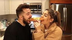 We Ate The Worst Reviewed Italian/Pizza Restaurant In Our City Ft. Andrea Russett