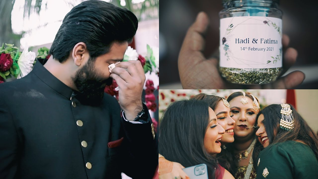 Groom Can't Stop The Tears When He Met His Bride // Hadi & Fatima