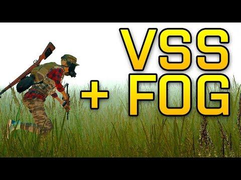 VSS + FOG IS THE BEST COMBINATION - PUBG