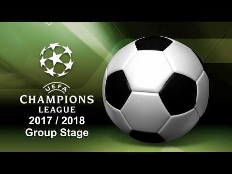 Champions League 2017/2018 Groups & Fixtures