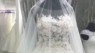 Продам шикарное свадебное платье с 3D гипюром Не Венчанное!