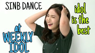 Download Video SINB DANCE COMPILATION at WEEKLY IDOL ( IDOL IS THE BEST) MP3 3GP MP4