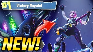 "WINNING WITH THE NEW SKIN ""POWER CHORD""! VICTORY ROYALE! (Fortnite: Battle Royale)"