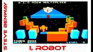 I, Robot Atari arcade game, playing on the mame emulator. Gameplay & Commentary