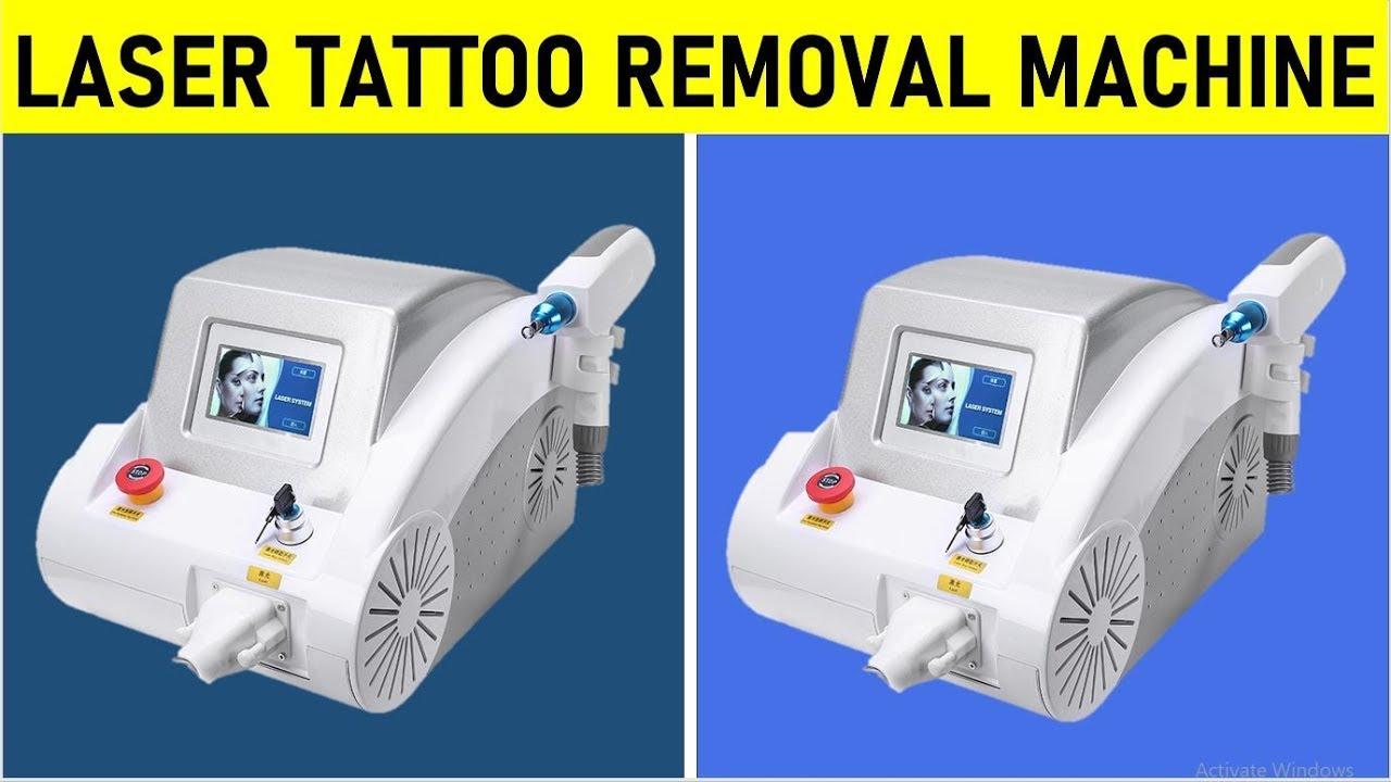 Laser Tattoo Removal Machine - Remove Eyebrow Tattoos ...