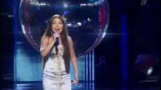 "Tahmina Niyazova - Hero (contest ""5 stars. Intervision 2008"") Tajikistan"