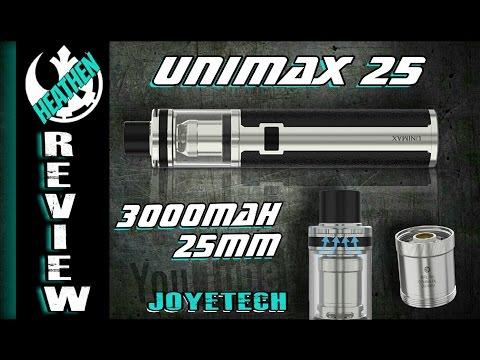 My new favorite on the go set up I Unimax 25 I Joyetech I Heathen