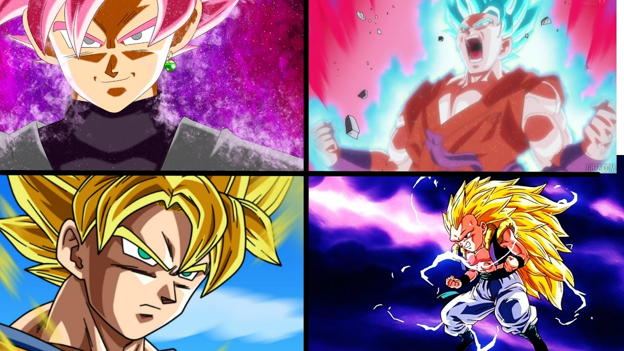 Las 22 Transformaciones De Goku En Dragon Ball: Top 10 DB DBZ DBGT DBS Transformations