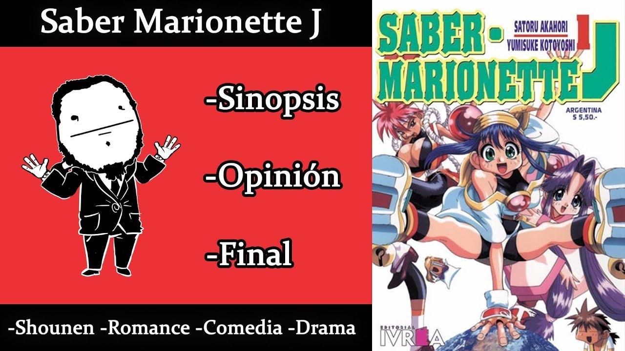 Saber Marionette J | Anime, Manga y Novela | Finalizado