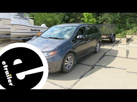 etrailer | K Source Universal Clip-On Towing Mirror Installation - 2015 Honda Odyssey