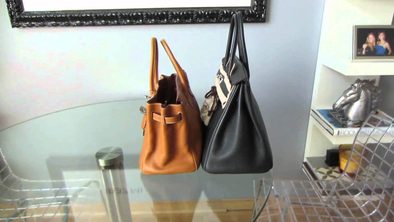 birkin bag hermes price - Hermes Birkin size comparison video 30cm vs 35cm (in HD)- re ...
