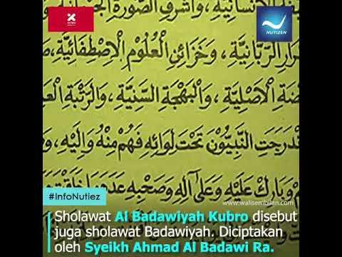 Fadhilah Sholawat Badawi Kubro Nutizen