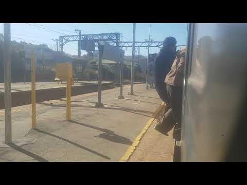 Metrorail Train Journey from Mayfair to Africa's biggest train station Johannesburg