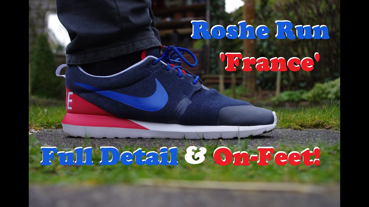 ... Nike Roshe Run NM W SP 'France' - In Full Detail & ON-