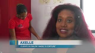 Cette jeune entrepreneuse Guadeloupéenne a créée un salon de coiffure ambulant !