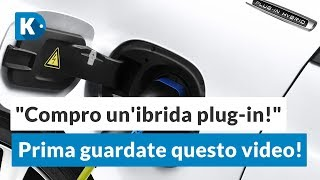 """Compro un'auto ibrida plug-in!"" 