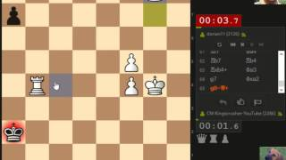 Berserk #039 - Bullet Chess Tournament - June 28th - 80 standing at end. Field included IM and FM