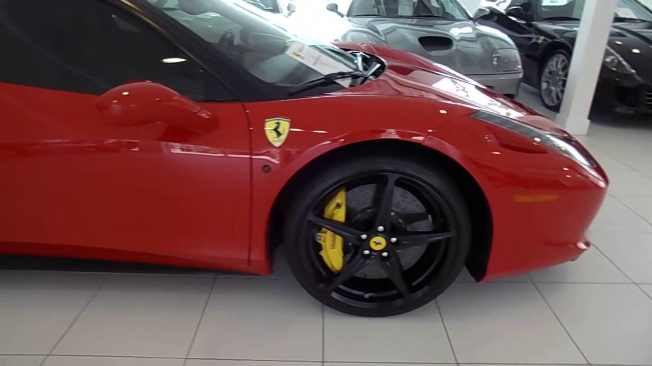 San Diego Supercars Lamborghini And Ferrari Dealership Youtube