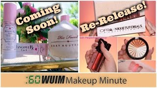 Makeup Minute | OFRA X NIKKIE RE-RELEASE for Individual Items + TOO FACED Hangover Setting Spray!