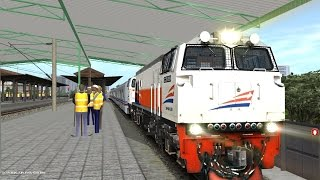 Trainz Simulator Indonesia - Joyride Kereta Api Argo Parahyangan Jakarta Gambir-Bandung (1/2)