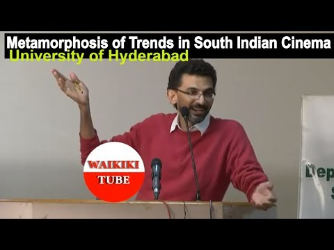 Sekhar Kammula Excellent Speech at University of Hyd   Metamorphosis of Trends in South Indian Movie