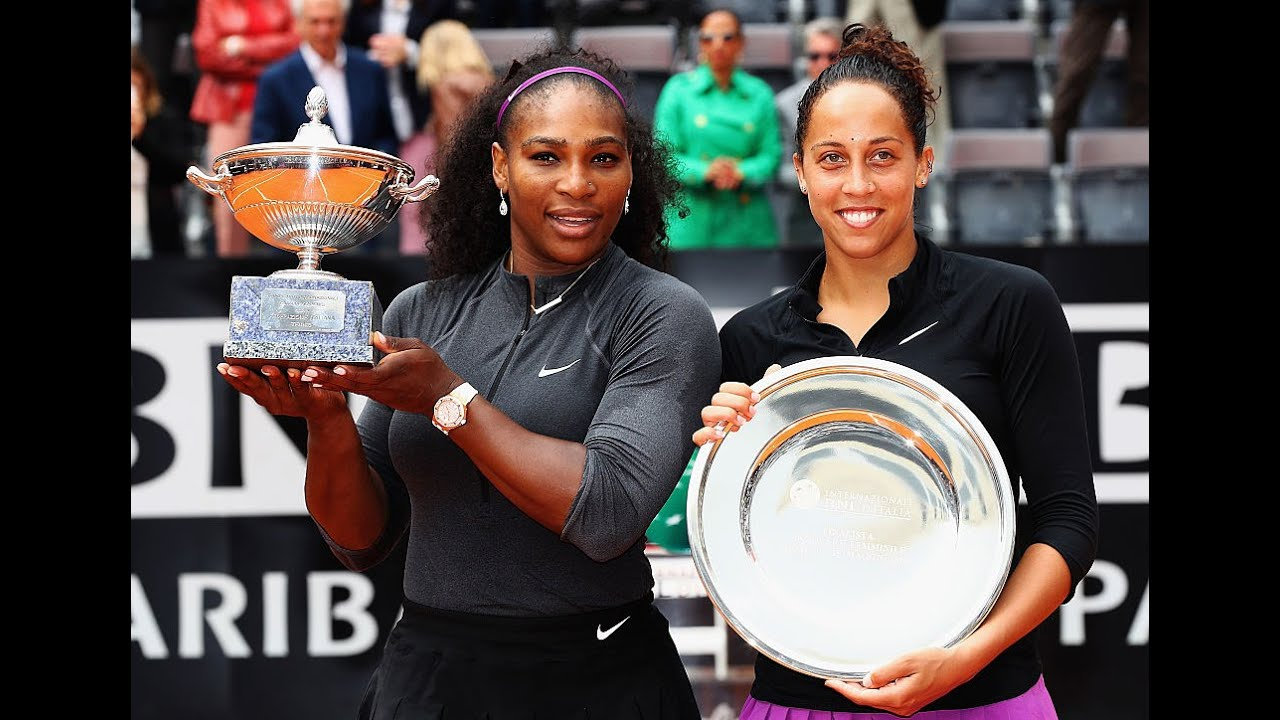 Madison Keys vs. Serena Williams | Trophy Ceremony | 2016 Rome