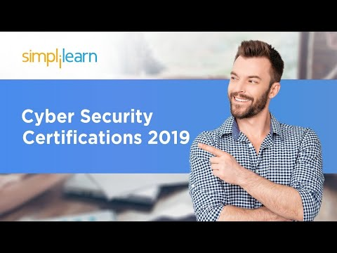 Cyber Security Certifications 2020 | Cyber Security Certification For Beginners | Simplilearn