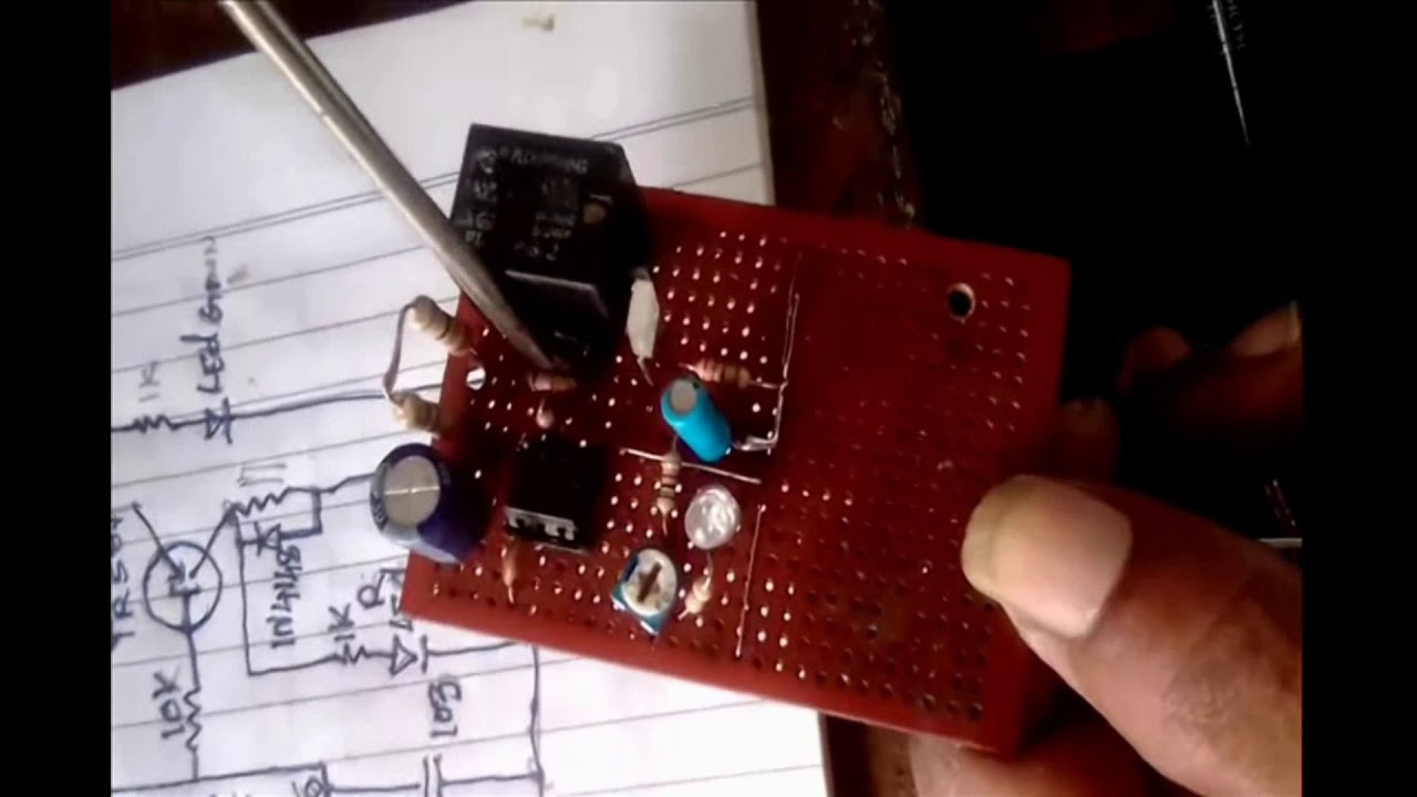 How To Homemade Time Delay Circuit Using 555 Ic Youtube A Ujt And Two Scrs Diagram