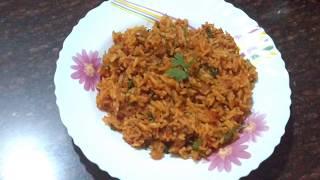 Tomato Pulao | One Pot Indian Dinner Recipe | Indian Veg Dinner Recipe | All That I Wonder