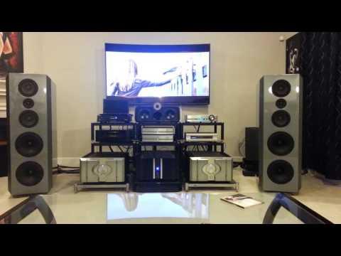 krell 600 c amplifier , Pass Labs xp30 ,Bsi model 4 speakers.....