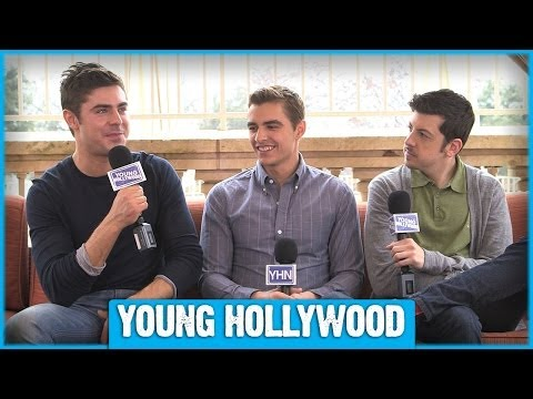 Zac Efron, Dave Franco, & Christopher MintzPlasse Reveal Fave NEIGHBORS Deleted !